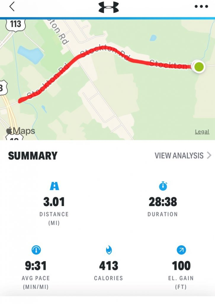 3 Miles A Day for 30 Days – Day 8 - Running Course