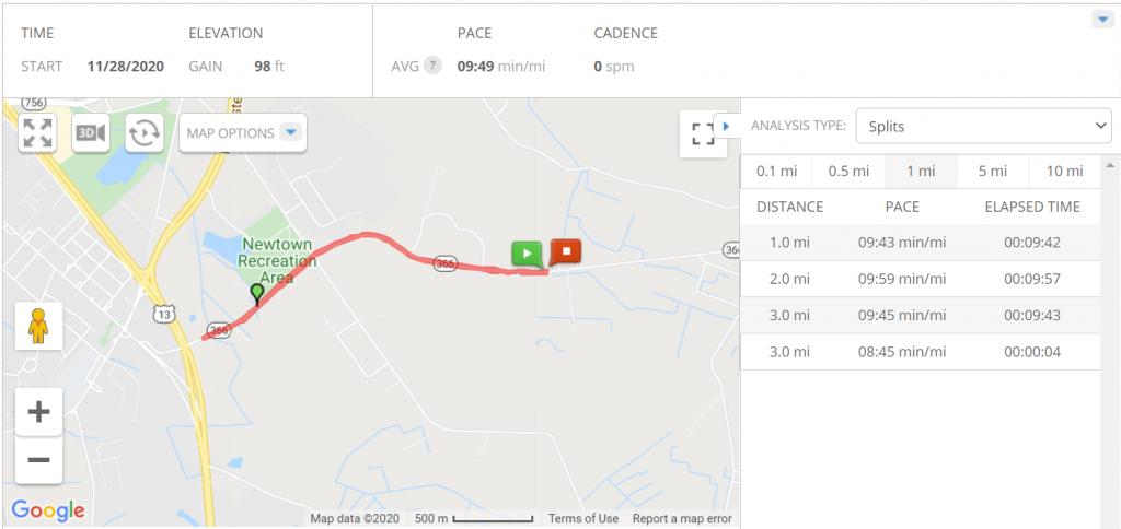 Run course near me