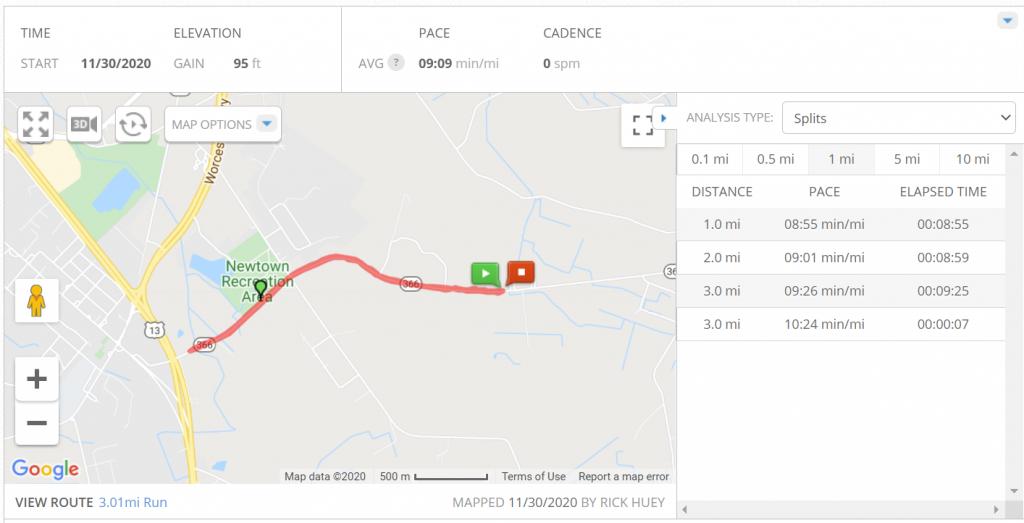 Map my run running course near me