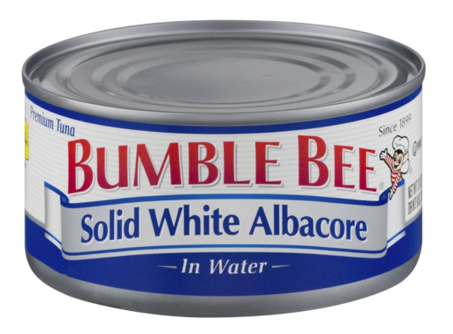 Solid white albacore tuna - healthy snacks for runners