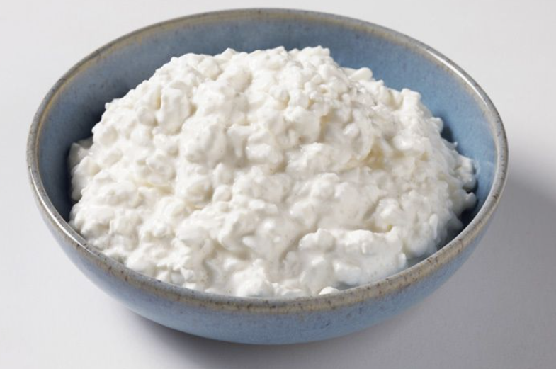 cottage cheese is packed with protein