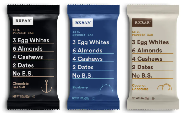 RXBAR is a simple and clean protein and carb source
