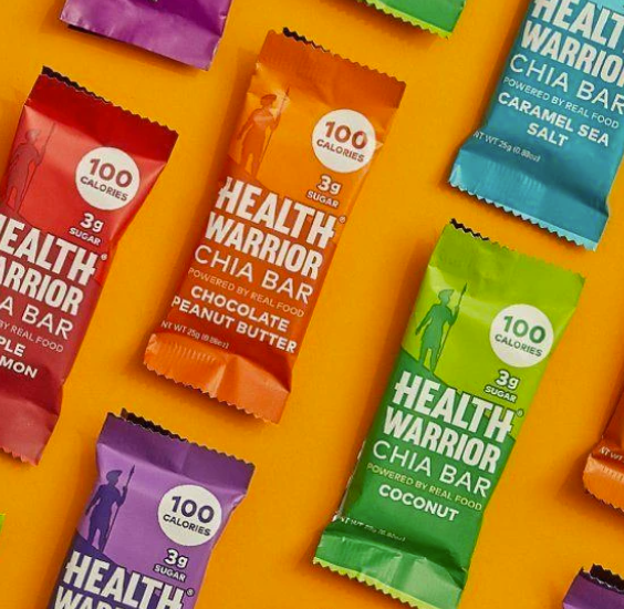 Chia Seed bars are a great fit for your active lifestyle