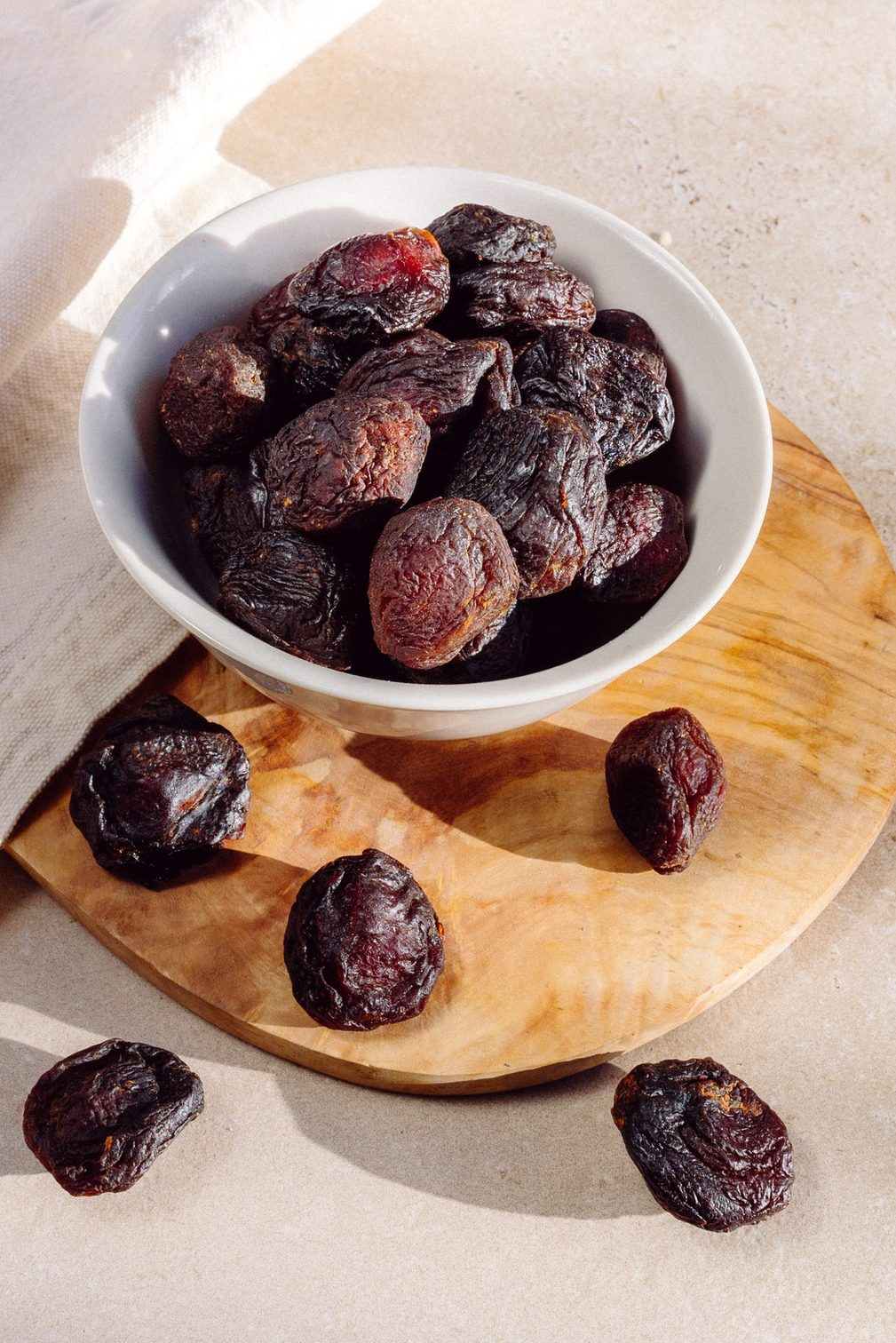 Plums are packed with potassium